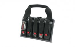 G-OUTDRS GPS PISTOL 10-MAG TOTE BLK