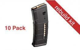 Pack: 10x MAGPUL PMAG MOE 5.56 WINDOW 30RD BLK - Rebuild Kits