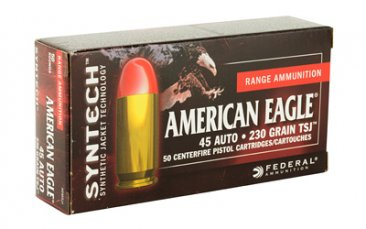 FED SYNTECH 45ACP 230GR TSJ 50/500